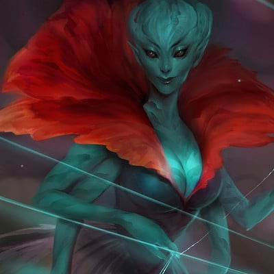 Sandra duchiewicz alien fantasy
