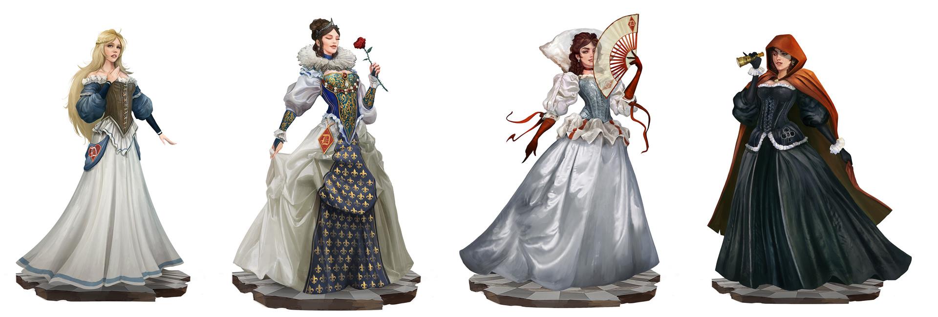 Alexandre chaudret nola characters folio lineup woman