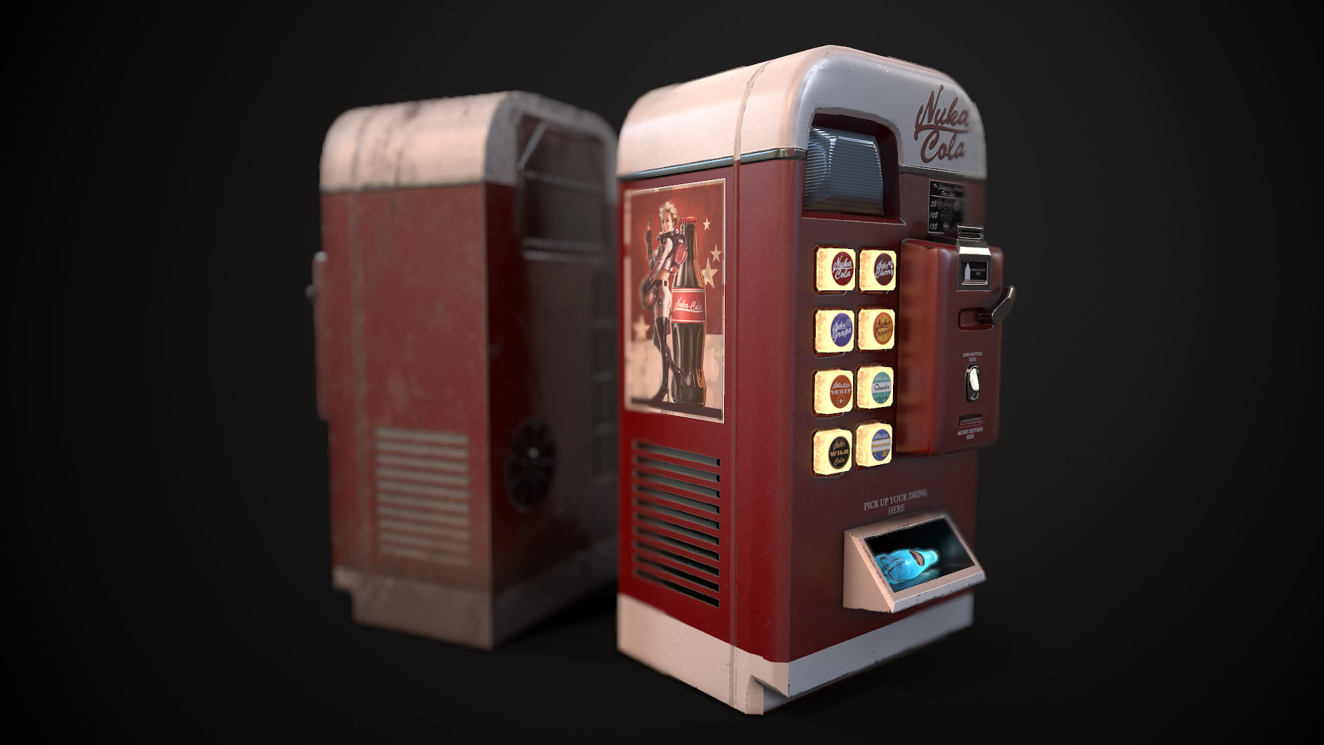 Fallout 4 Nuka Cola Caps 5 Steps With Pictures Instructables