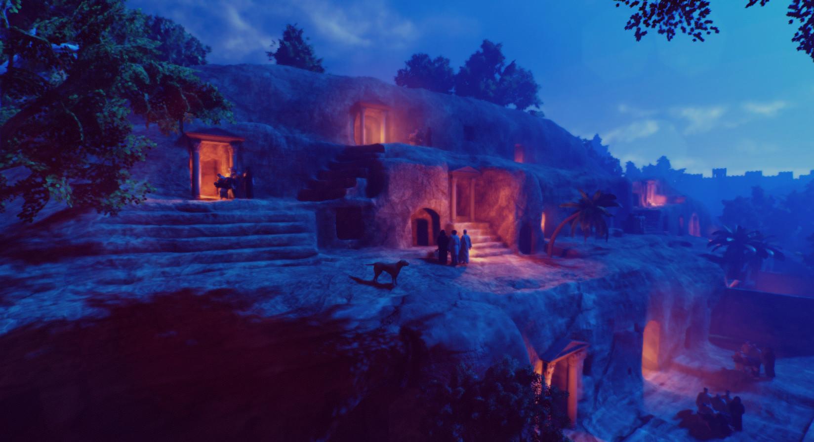 Necropolis exterior screenshot
