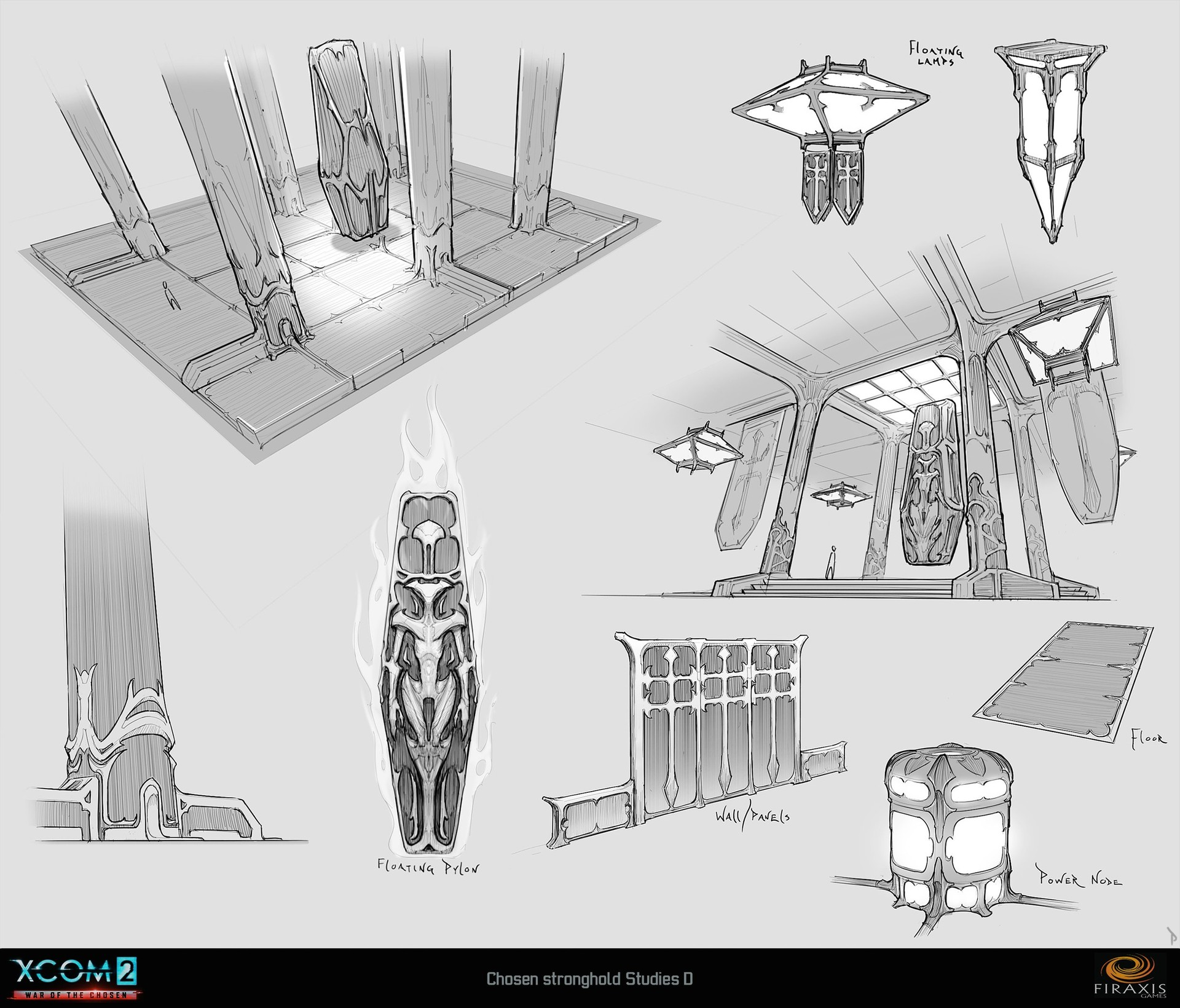 Chosen Stronghold Sketches