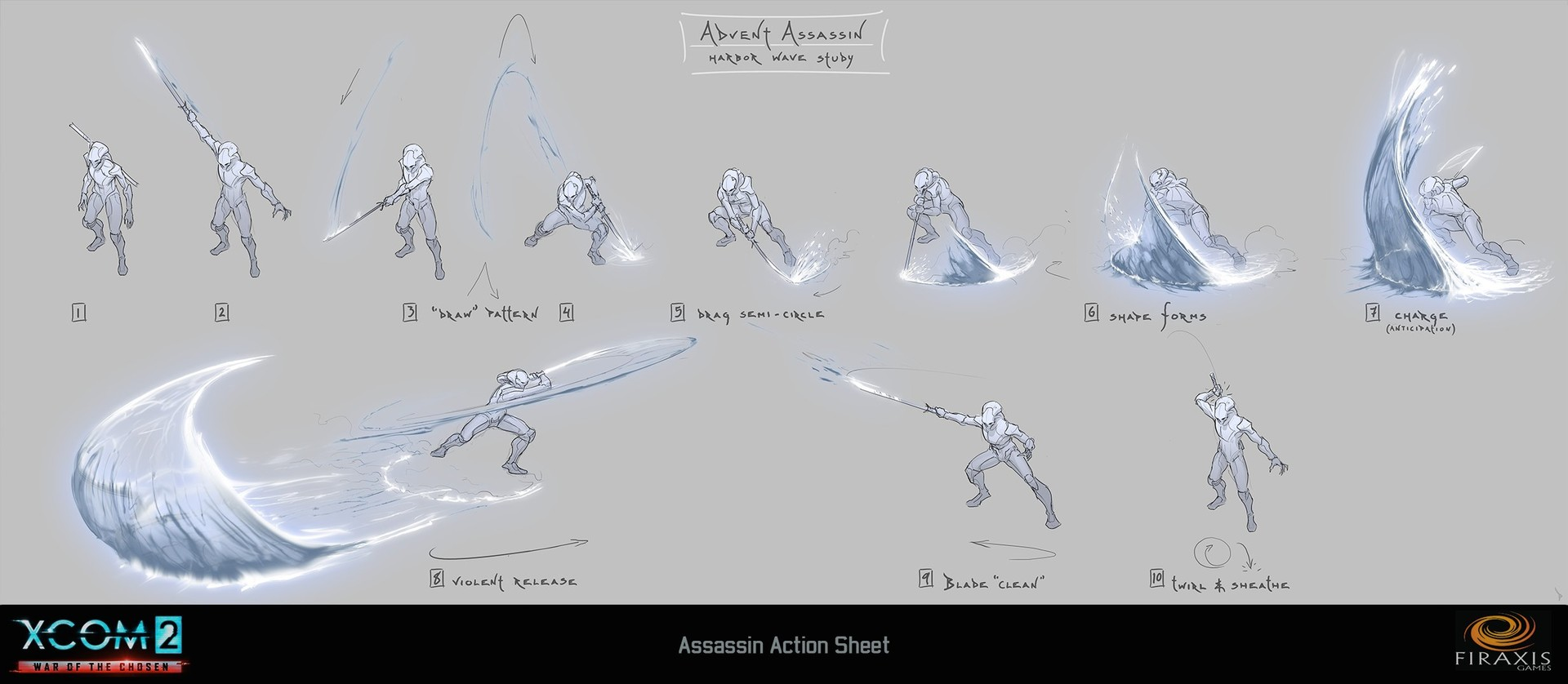 Chosen Assassin sample ability sheet