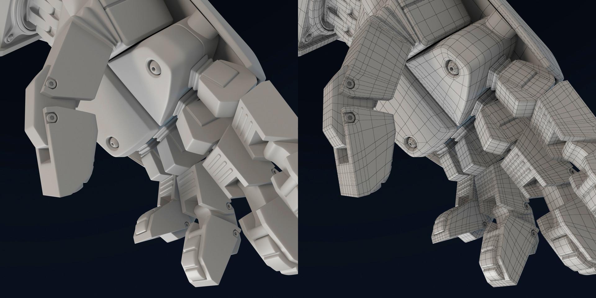 ArtStation - BIONIC ARM - Modeling, Jaime Chinchilla