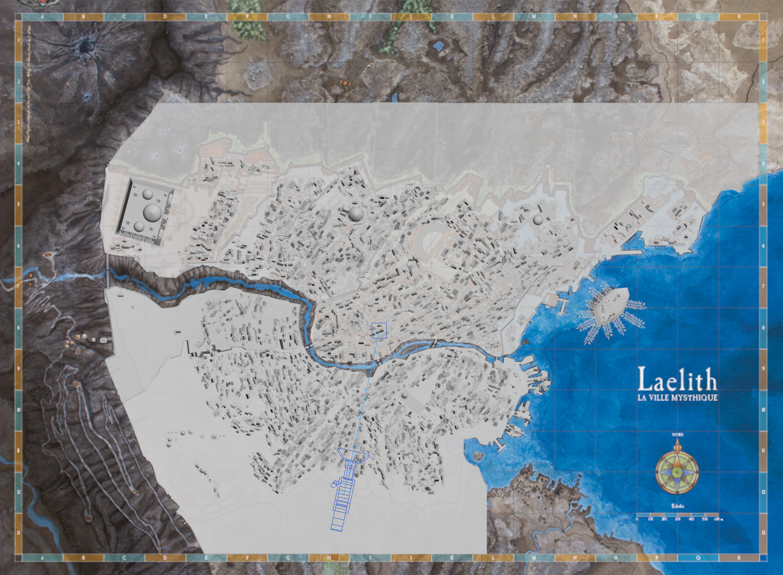 3D layout using city map (thanks Objet Paint Option !)