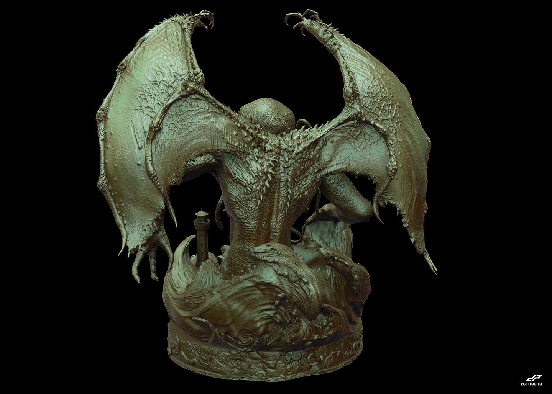 Dope pope zcthulhu bronze 1 29