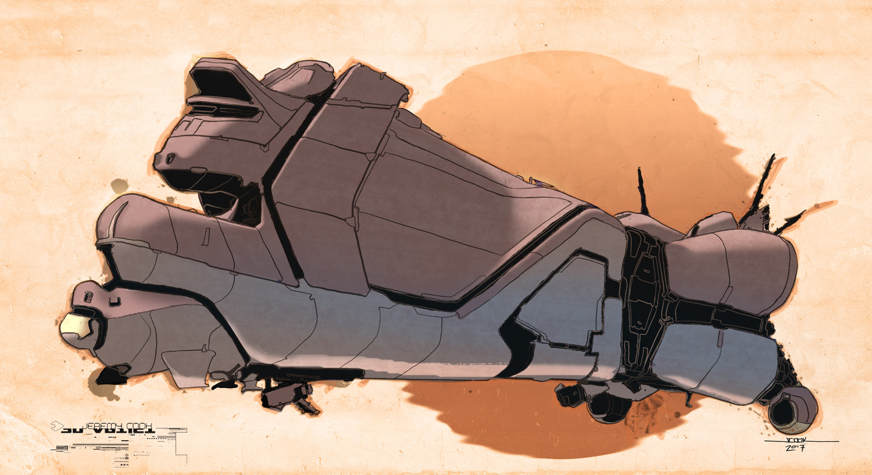 """Inksplat"" ship #11"