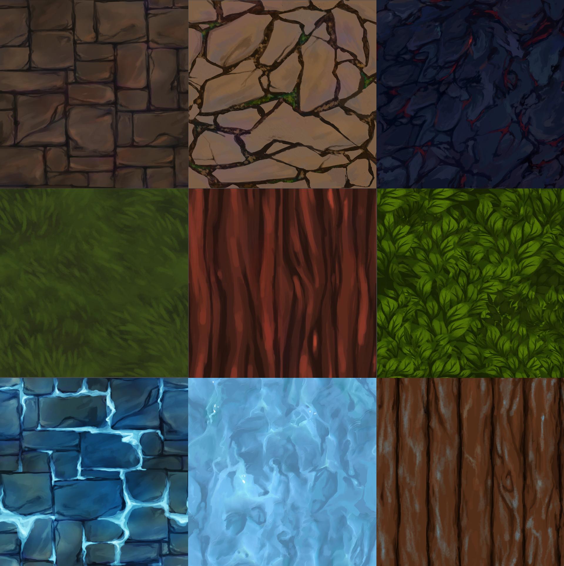 Rebecca froden texturer