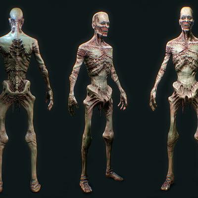 Bernhard van der horst zombiecharactersheet001 contrast