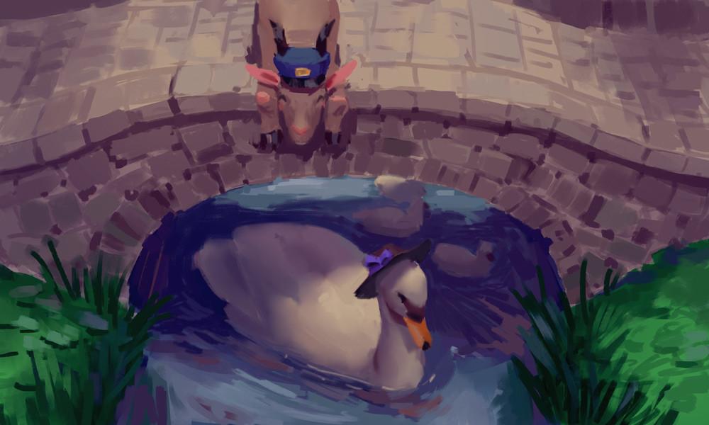 *the susurrus of a gentle stream*