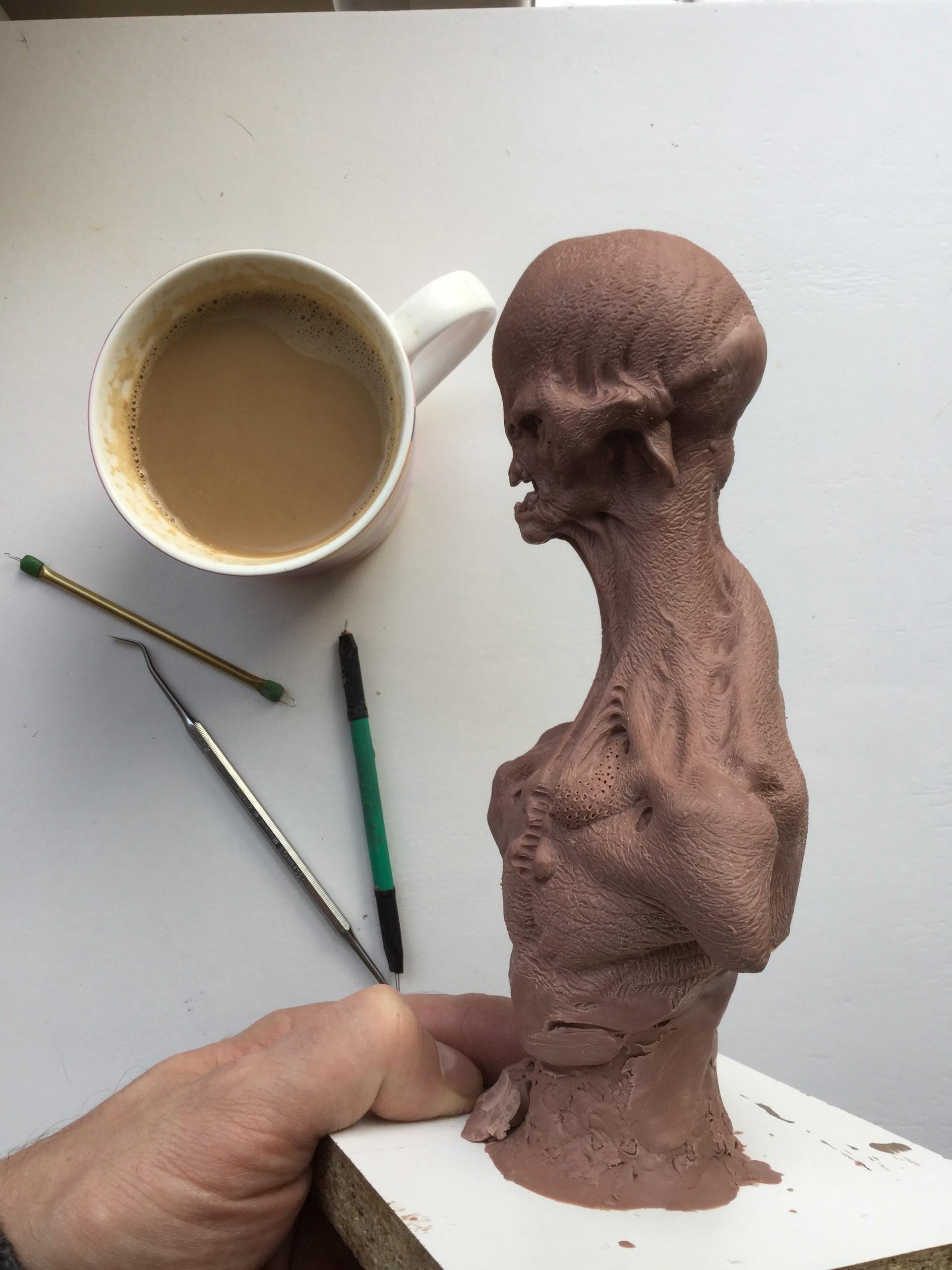 Alien/monster clay/work in progress
