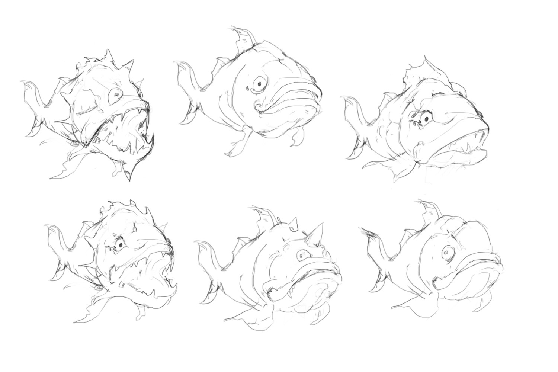 Patrik bjorkstrom fish concept