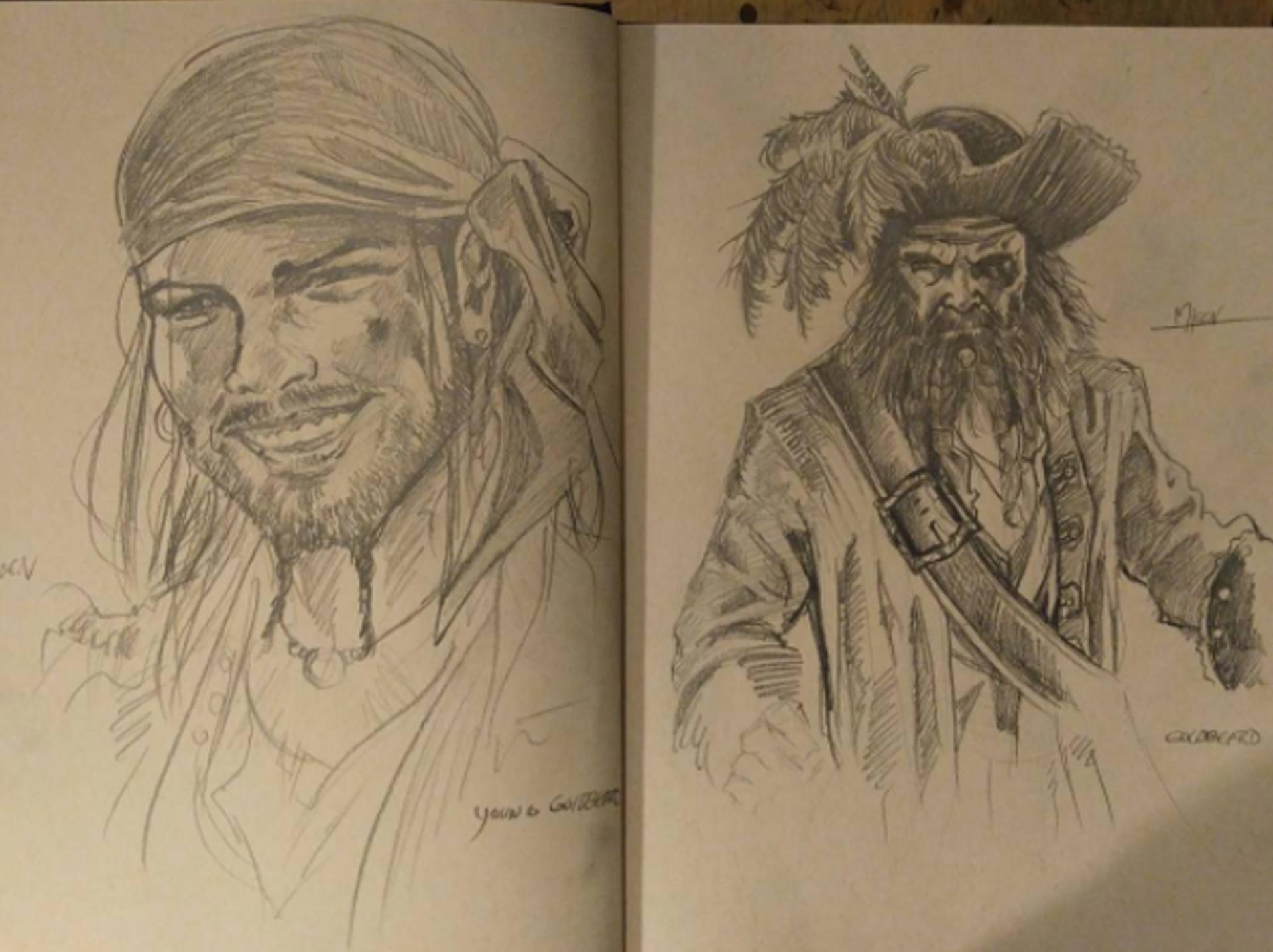 Kyle mjoen goldbeard sketches