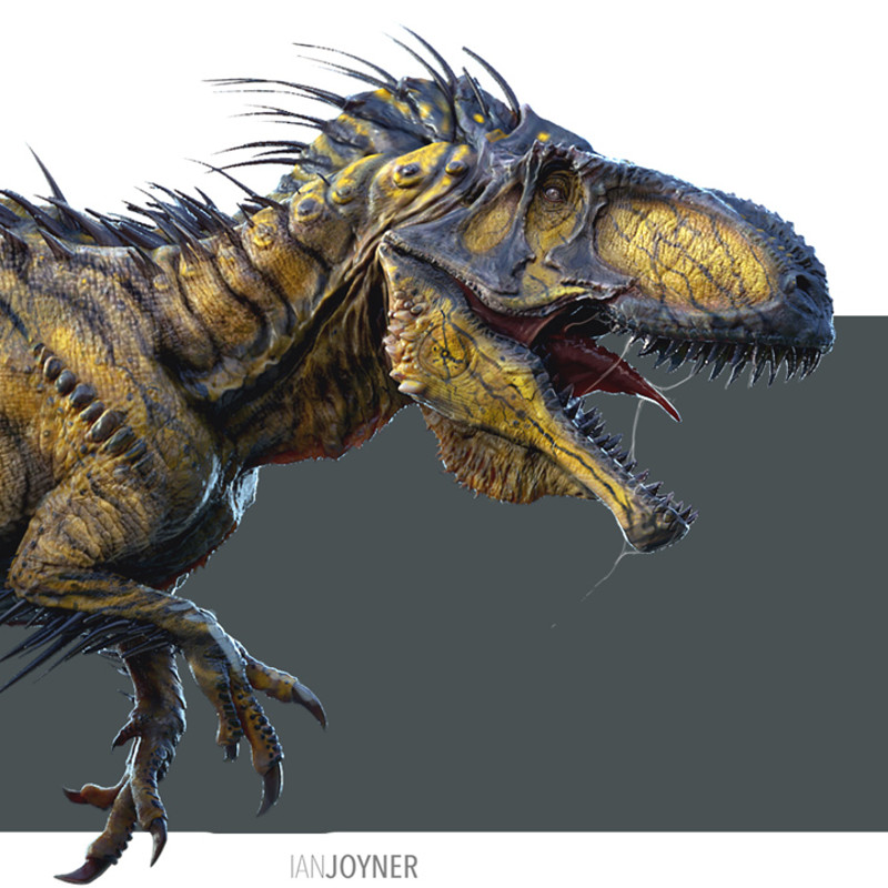 Early Design for I-Rex in Jurassic World