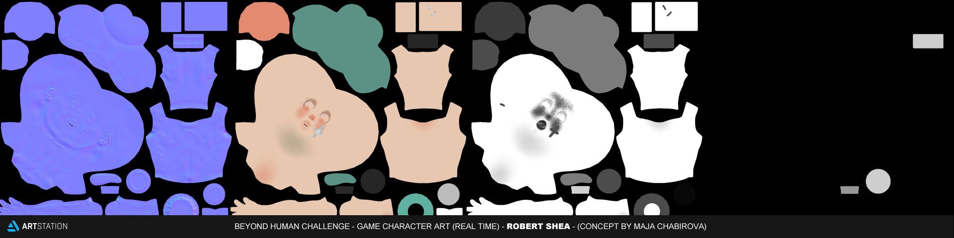 Robert shea skintextures