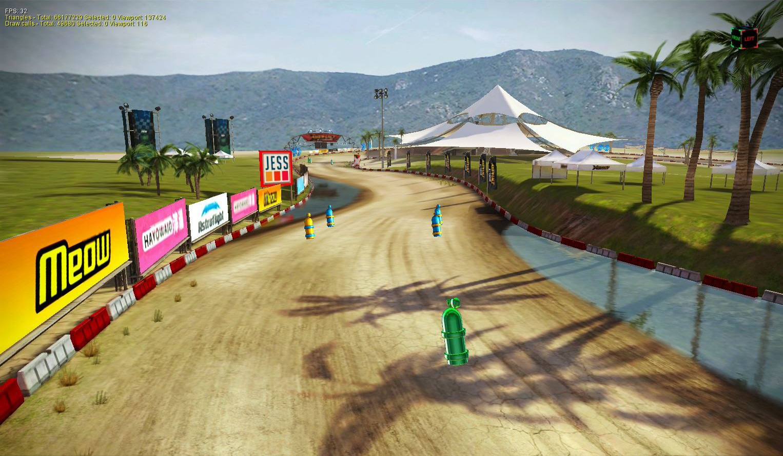 Asphalt Xtreme - Gameloft Coachella Valley Track