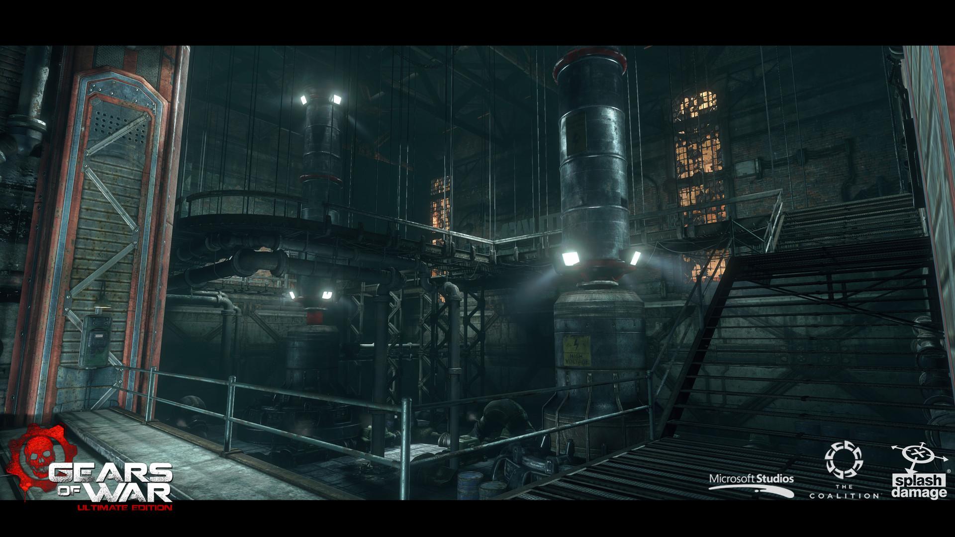 Matt Hancox - Gears of War Ultimate Edition - Ephyra Streets