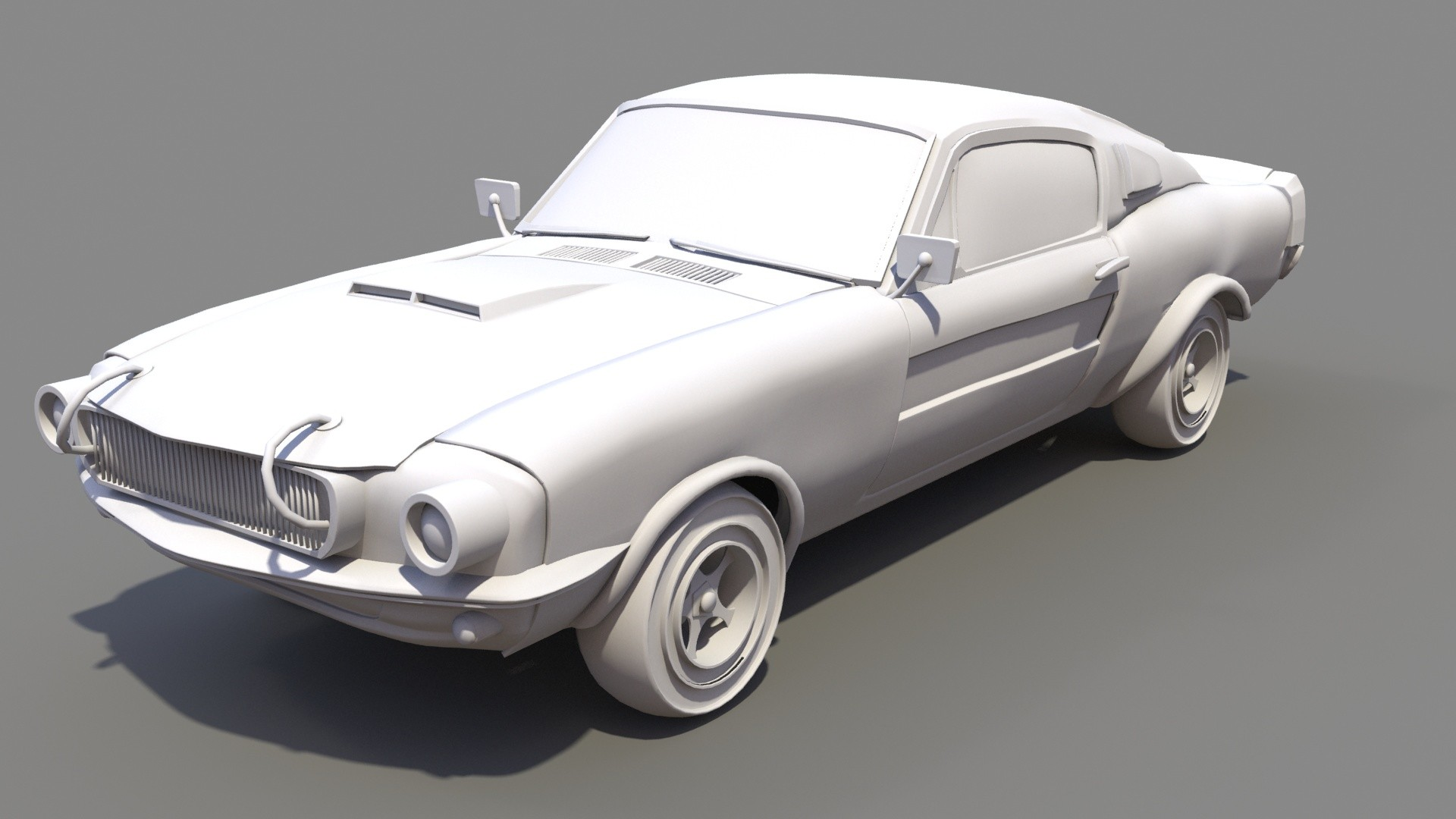 Kendal 316 coche render