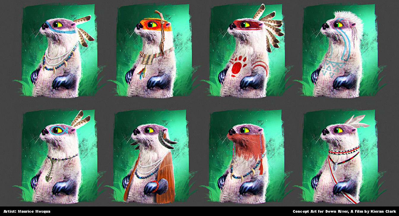 Otter Tribe Concepts