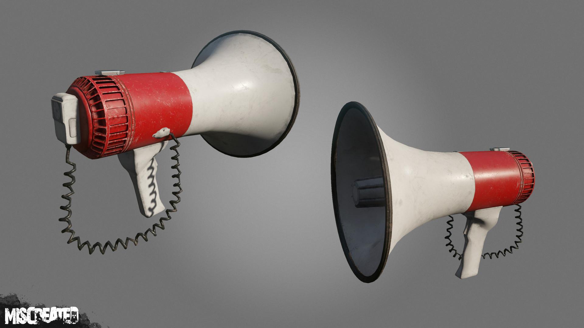 Carl kent megaphone