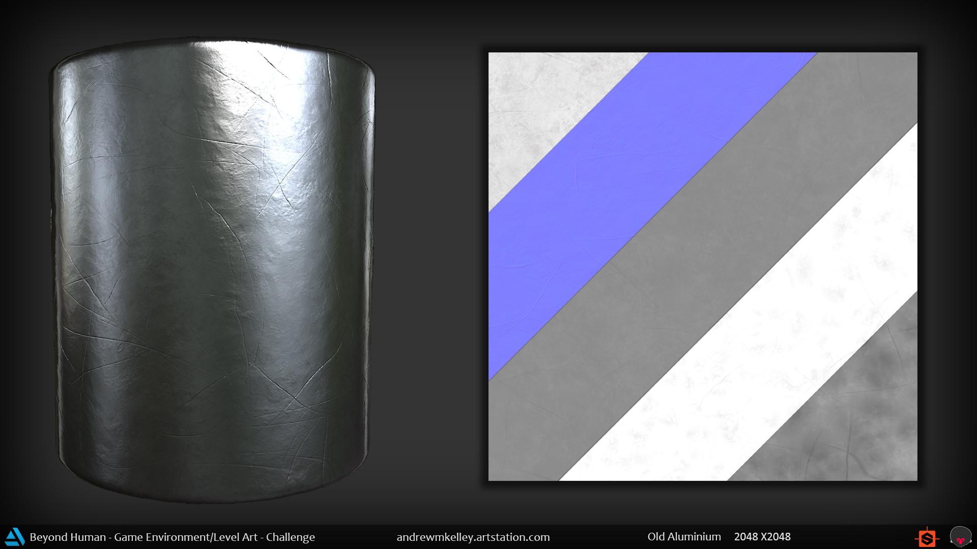 Andrew kelley materialshot oldaluminium