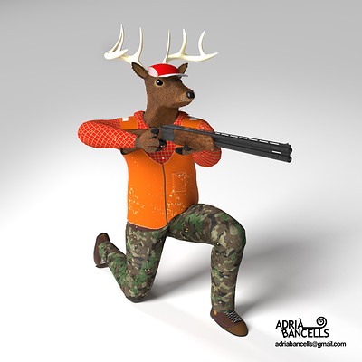 Adria bancells deer hunter low