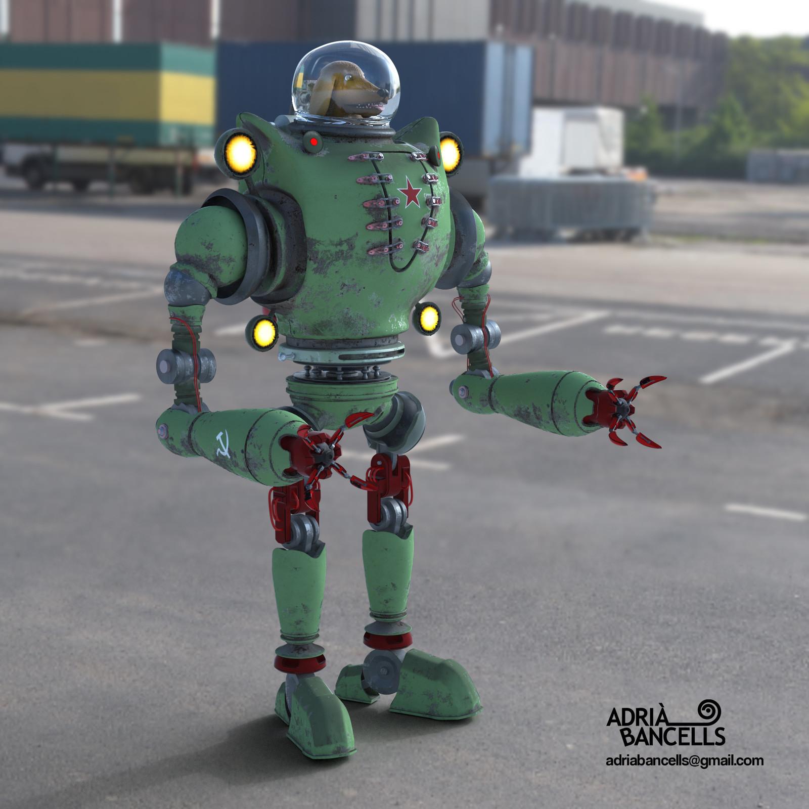 Robo Dog Front