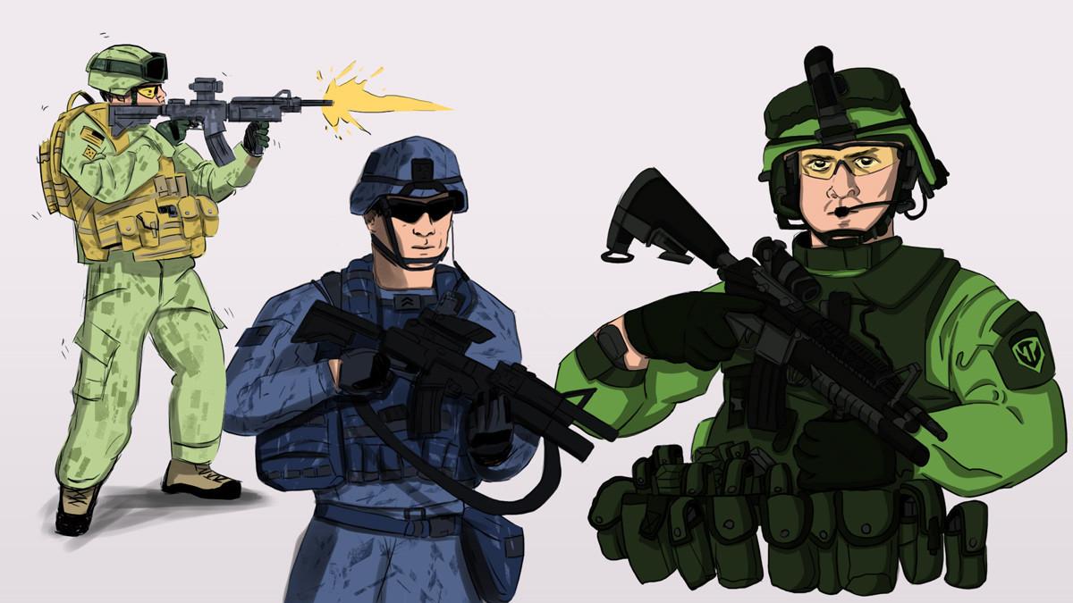 Hector sanchez soldiers web