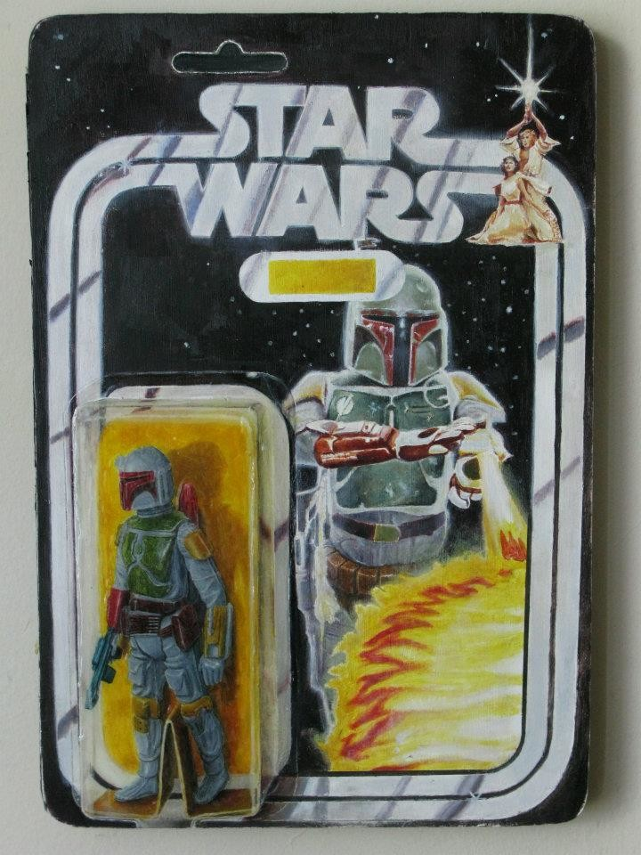 Eric bond boba fett prototype package
