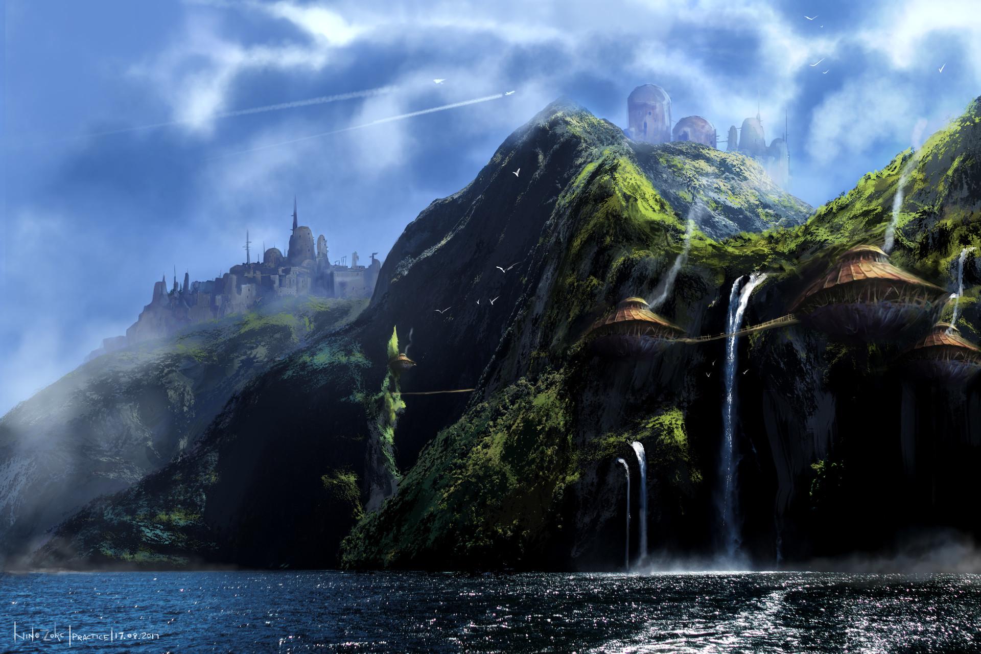 ArtStation - Lost Island, Nino Zorc (Nion)