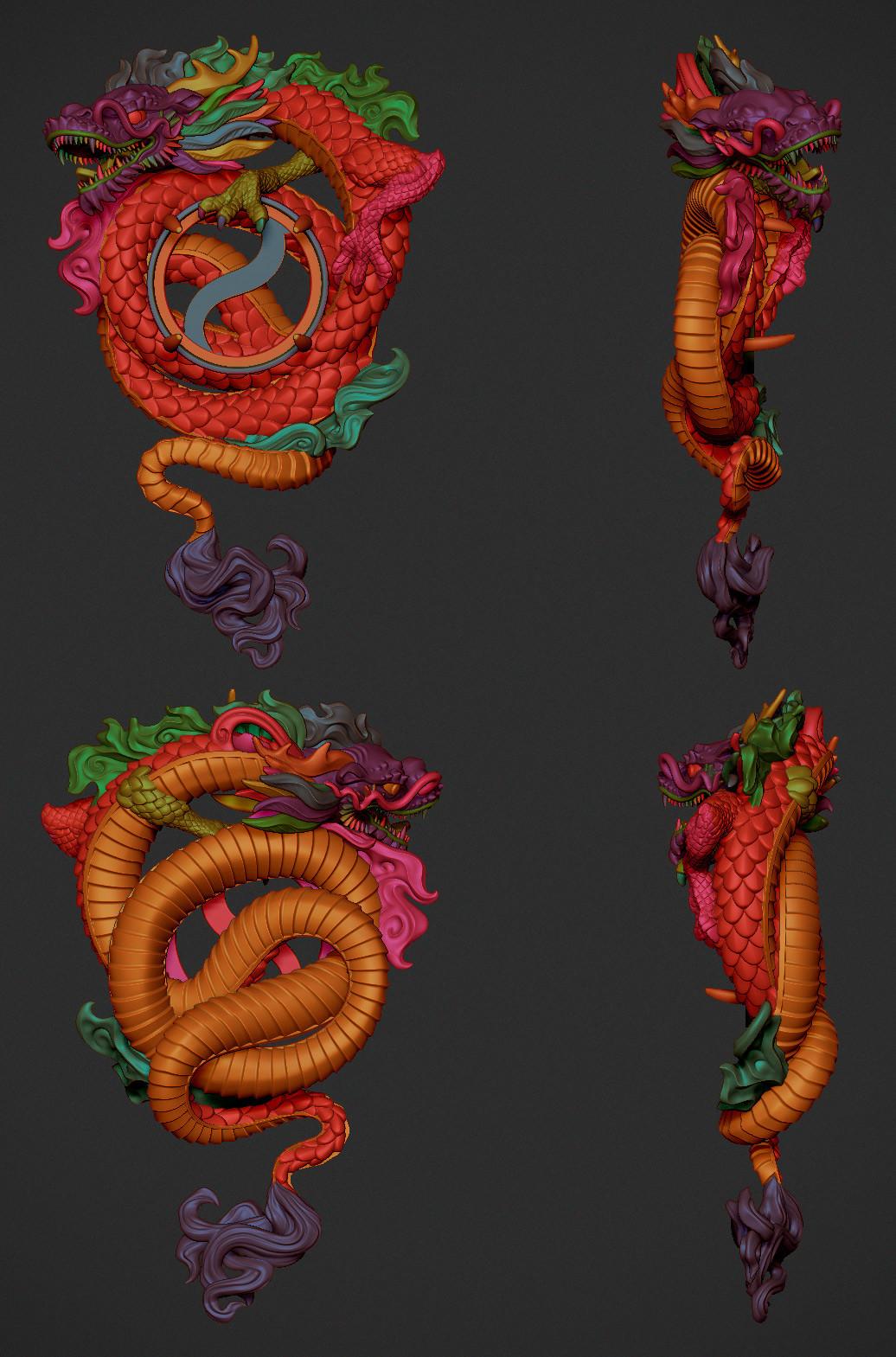 Nacho riesco gostanza colgante dragon y jade zbr2
