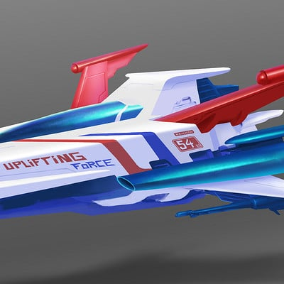 The nrg main ships concept sketches1