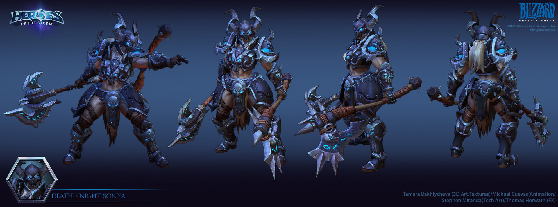 Death Knight Concept Art Weapons