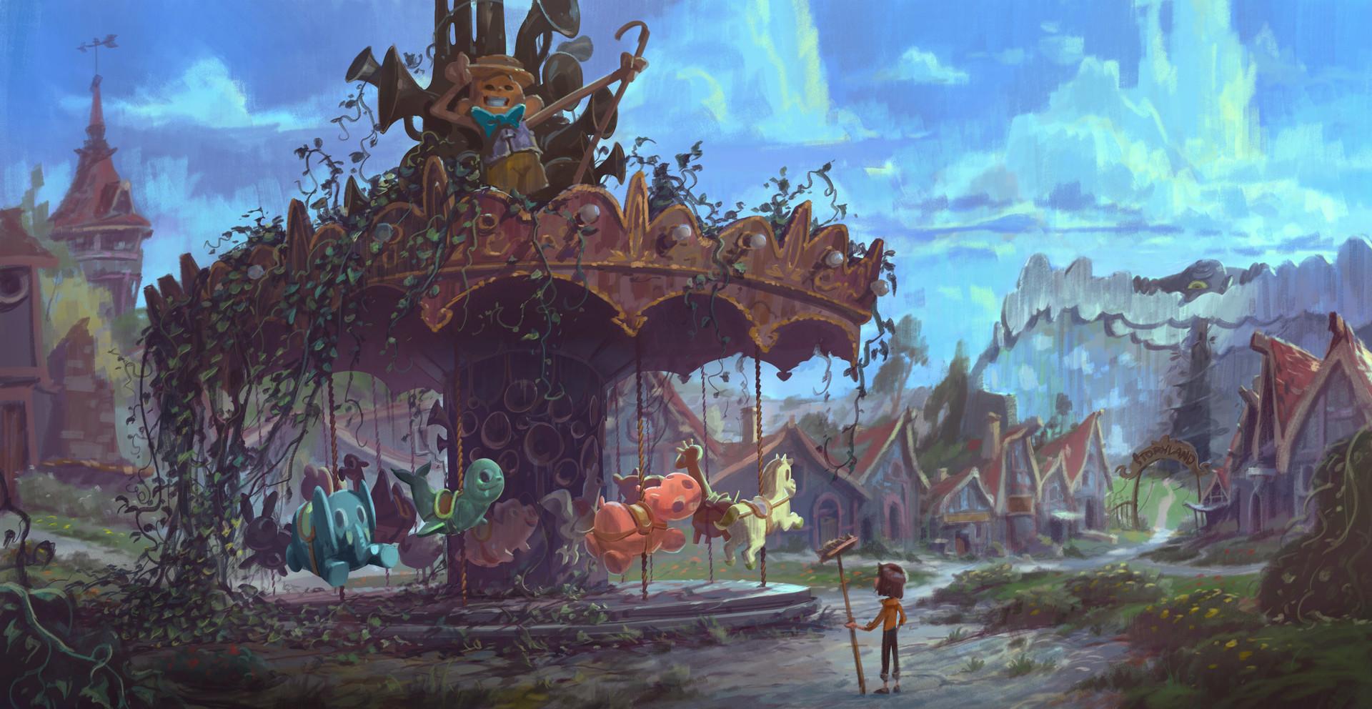 Rustam hasanov carousel overgrowth 2