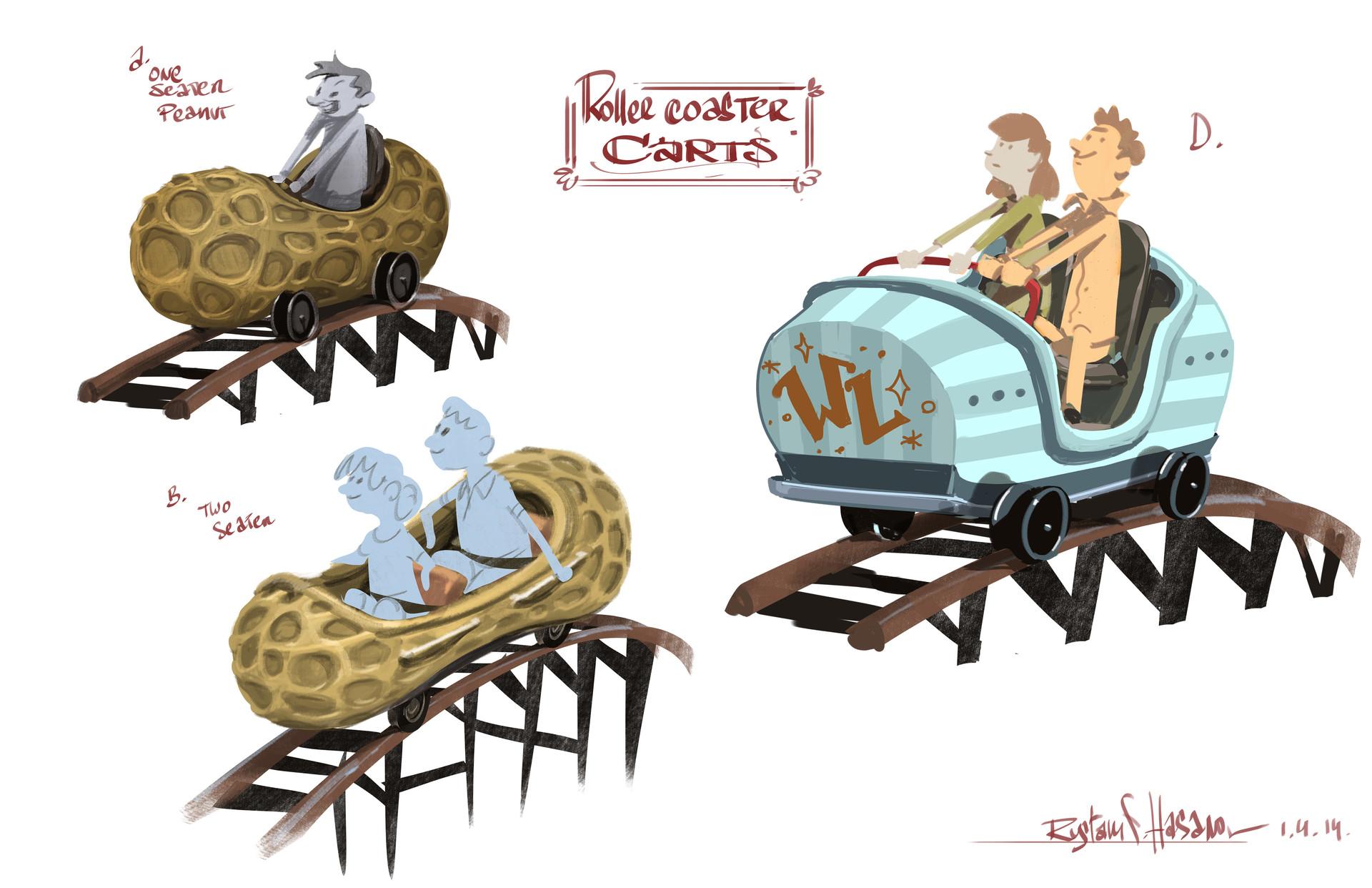 Rustam hasanov cart rides1