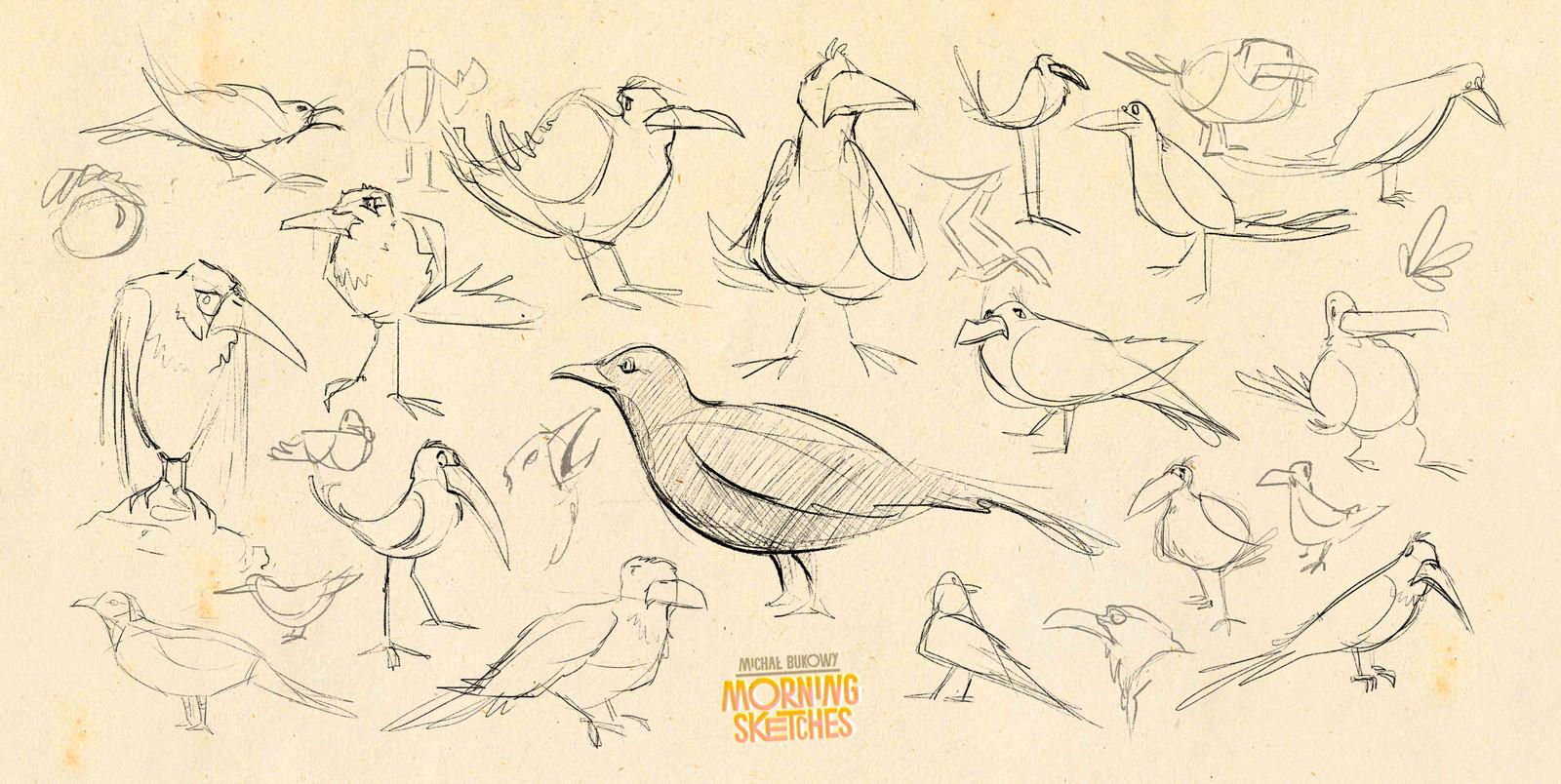 Morning Sketches I