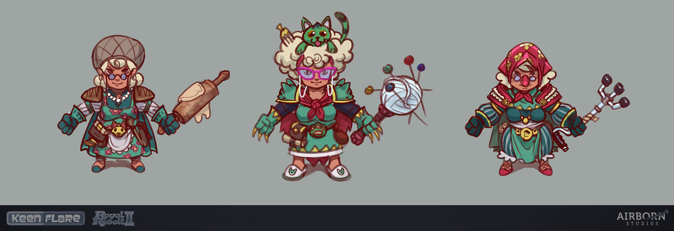 Granny Itemset first sketches