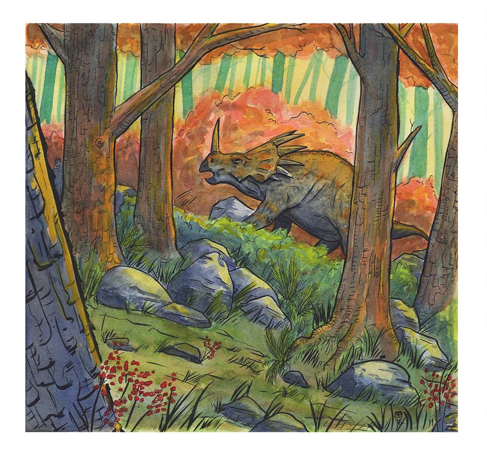 Mclean paul dino watercolor1