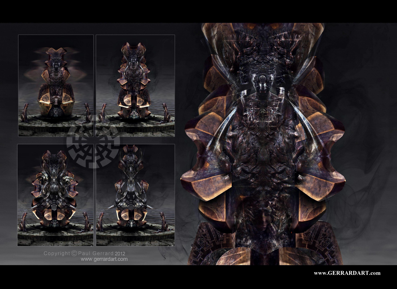 GODS OF VOID Concept art from short Hellraiser Origins More art in my debut art book ..  http://kck.st/2vVMQYR