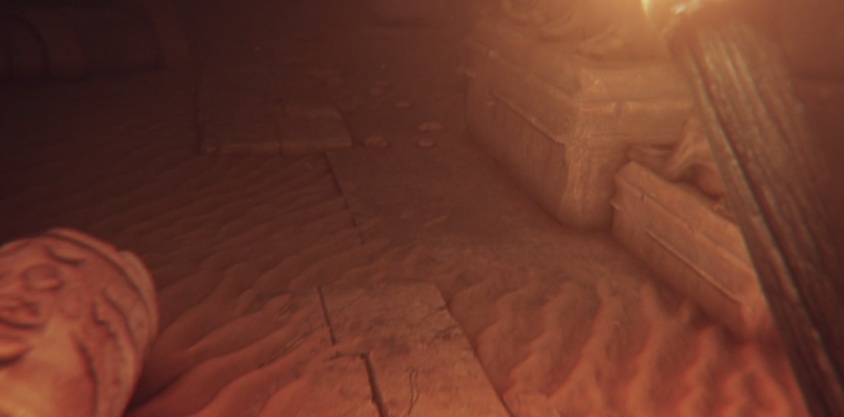 Sand and statue models redone for realism