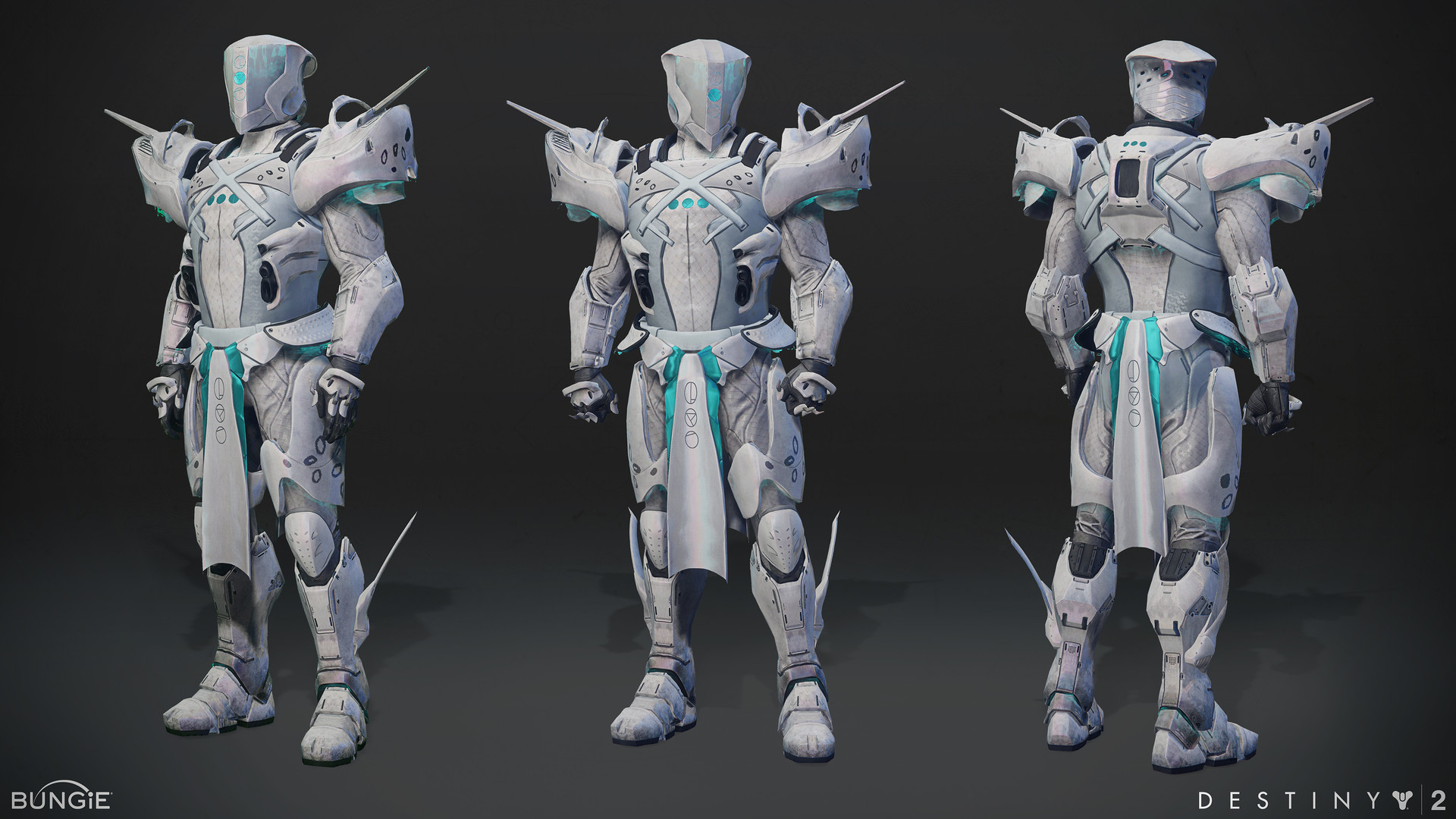 ArtStation - Trials of the nine Titan gear set, Allan Lee