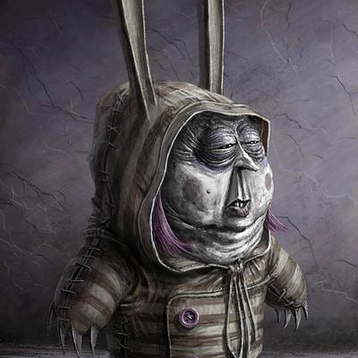 Santiago vecino personaje creepy cute 3