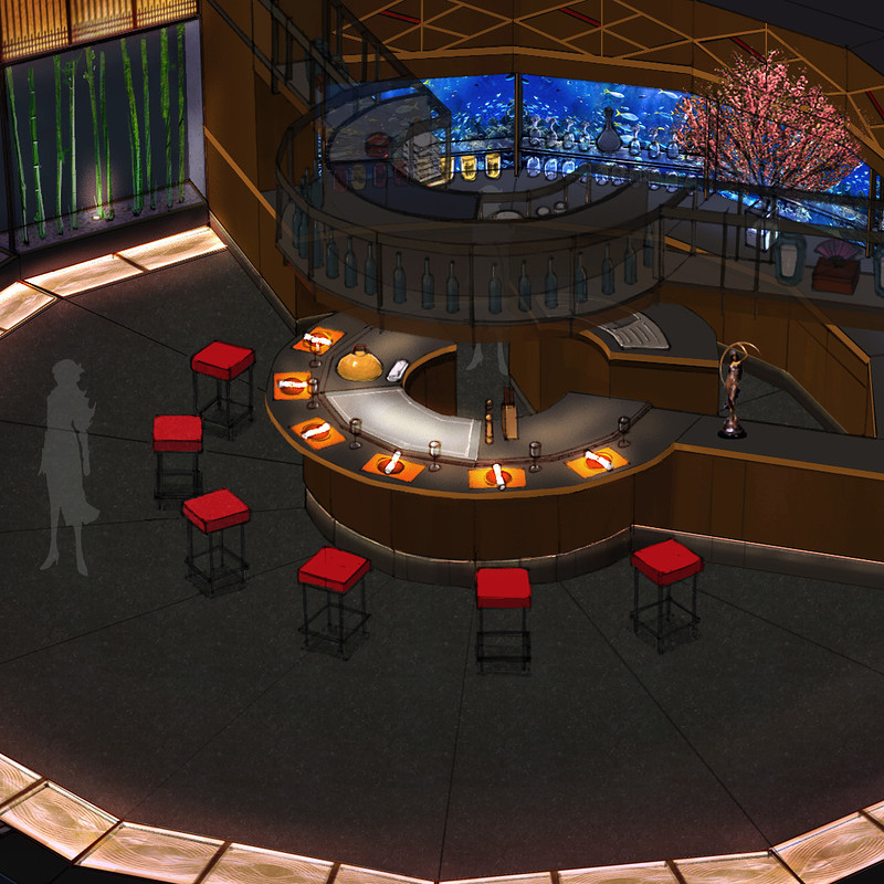 Project VR - Japanese Restaurant
