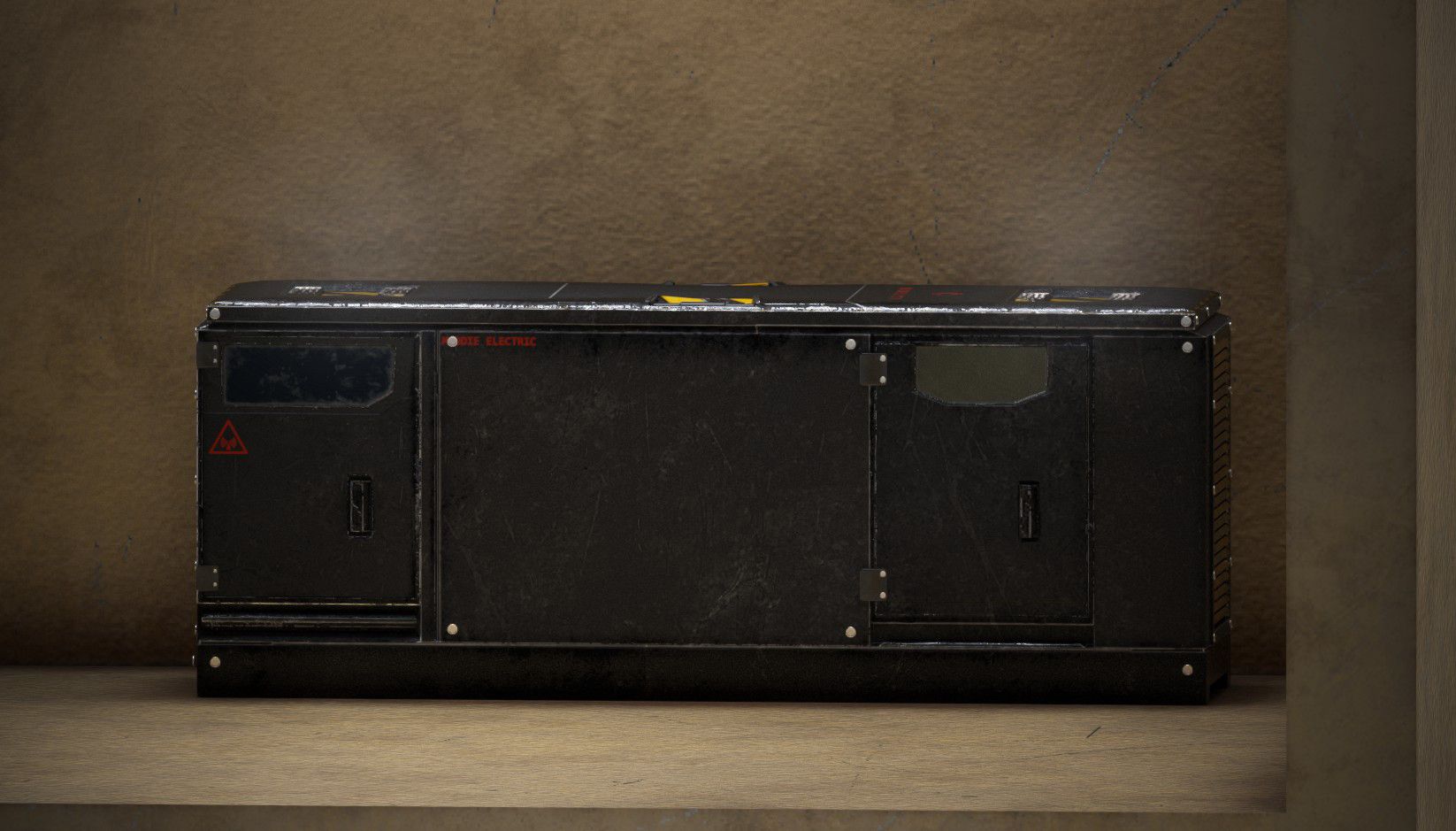 Homemade Generator Prop, Madeline Devoto