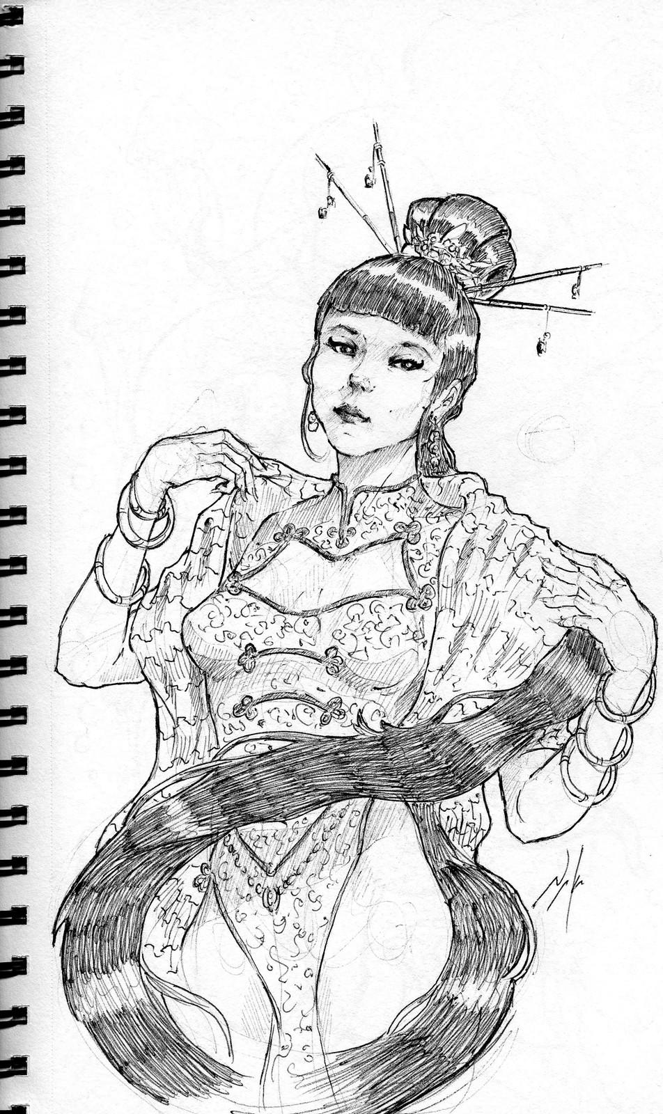 Empress sketches