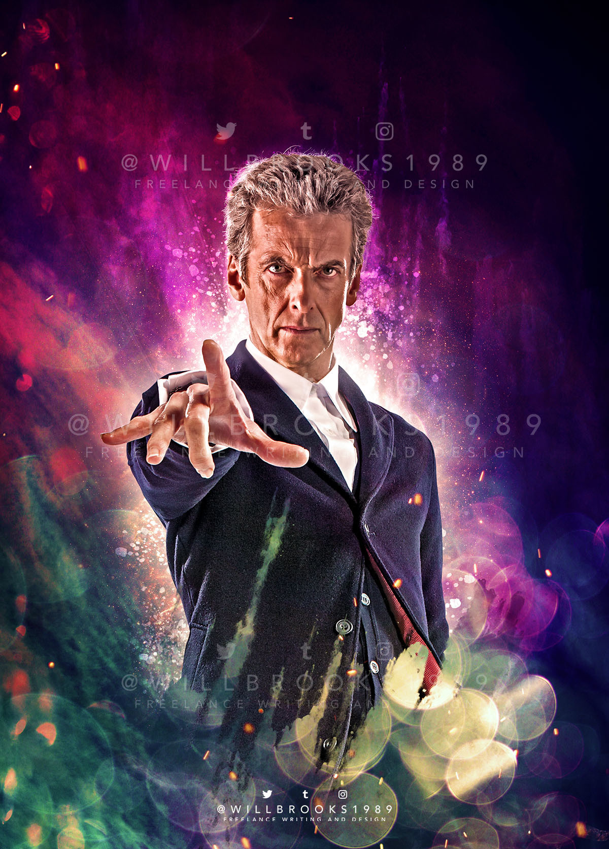 Artstation Doctor Who The Twelfth Doctor Year Three Issue