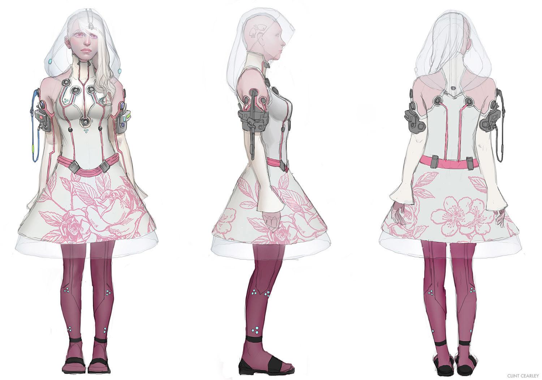 Day version of Alice's attire