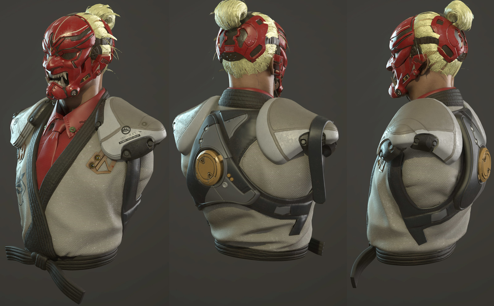 Bosskey Character Art Test