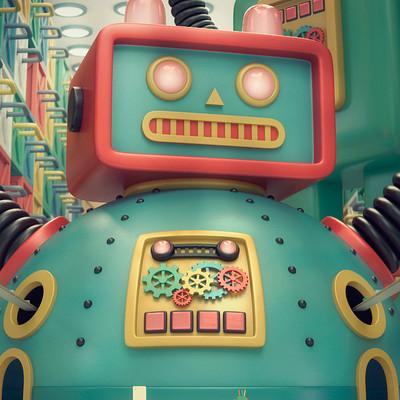 Erika eguia robotropolis color