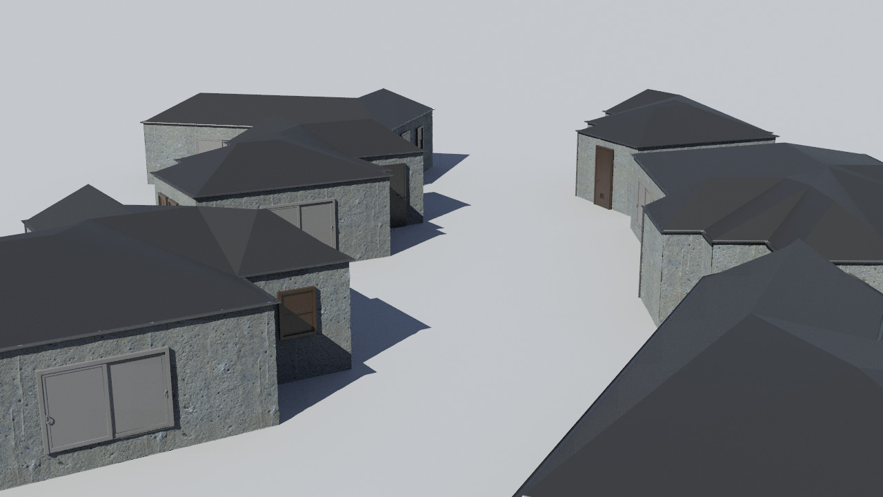 Simple building generation