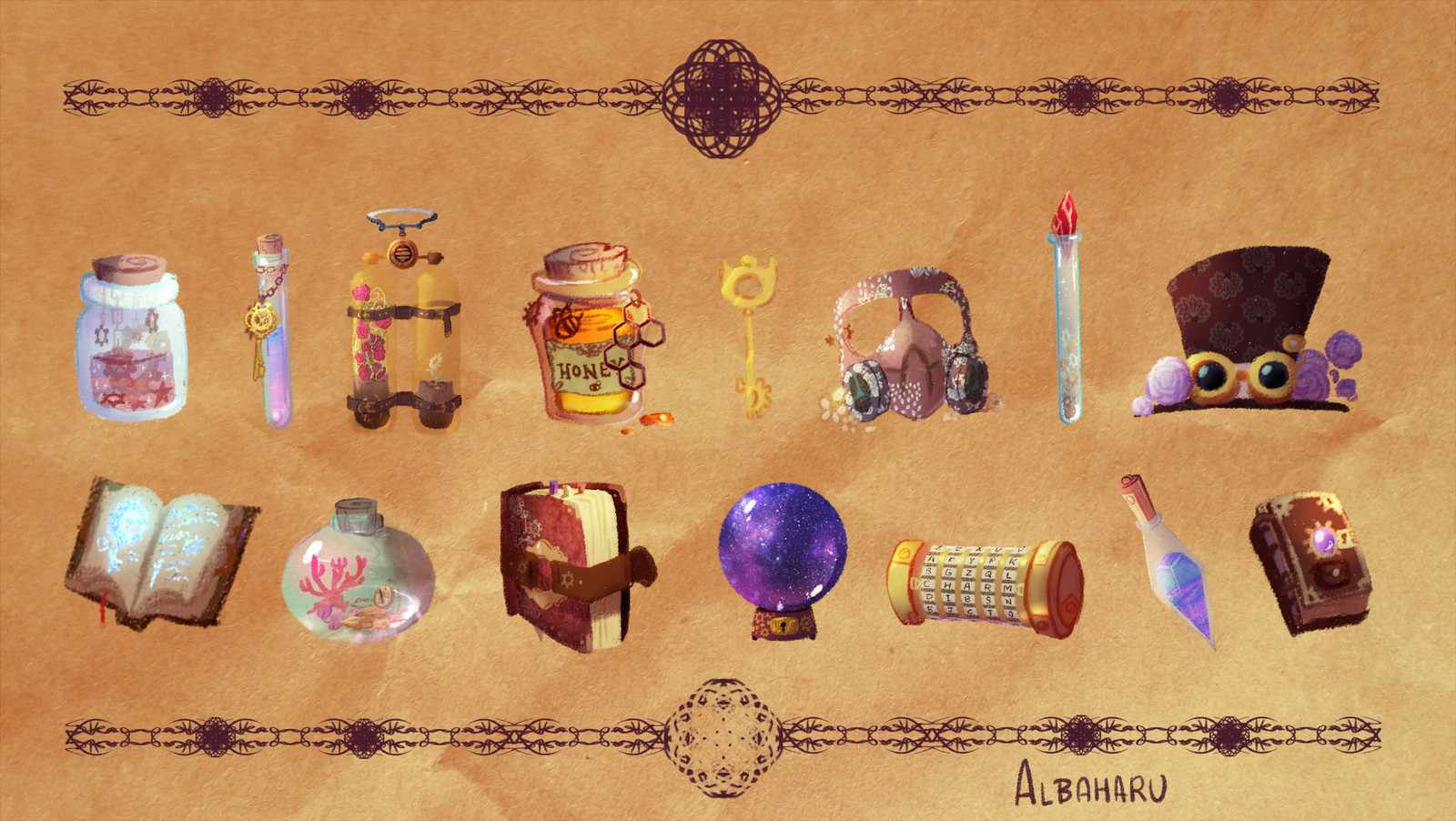 Props and items